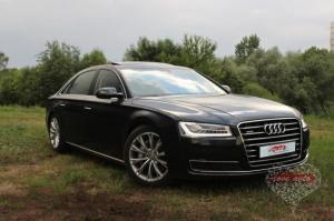 Прокат Audi A8 Long на свадьбу 2