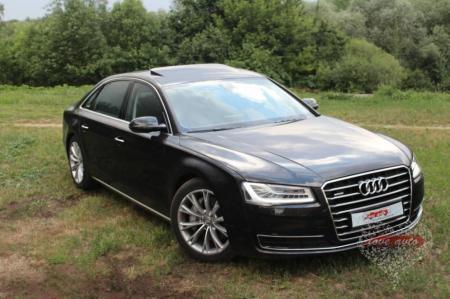 Прокат Audi A8 Long на свадьбу