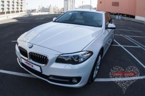 Прокат BMW 5 на свадьбу 4