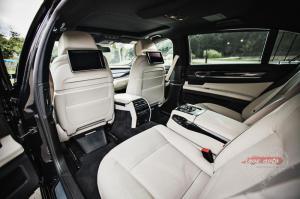 Прокат BMW 7  на свадьбу 1