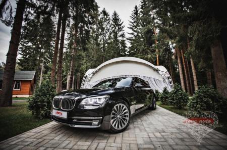 Прокат BMW 7  на свадьбу