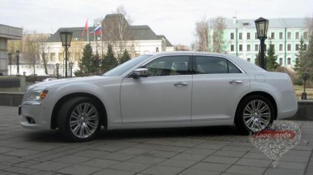 Прокат Chrysler 300C NEW на свадьбу