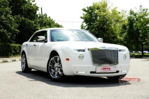 Прокат Chrysler 300C Rolls-Royce Style на свадьбу 1
