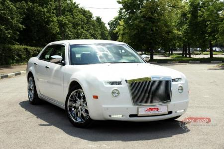 Прокат Chrysler 300C Rolls-Royce Style на свадьбу