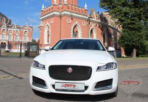 Прокат Jaguar XF NEW на свадьбу 3