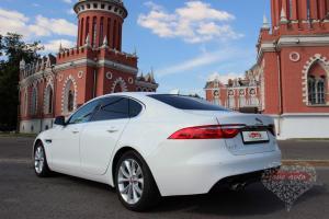Прокат Jaguar XF NEW на свадьбу 2