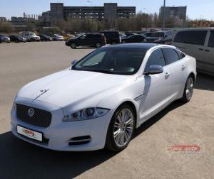 Прокат Jaguar XJ на свадьбу 0