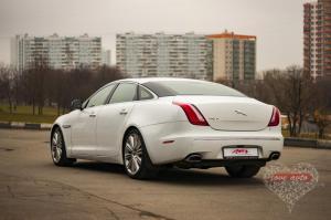 Прокат Jaguar XJ на свадьбу 1