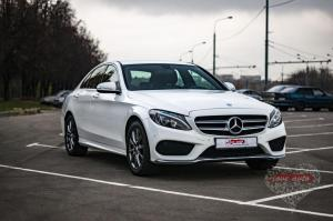 Прокат Mercedes-Benz C-klasse на свадьбу 6