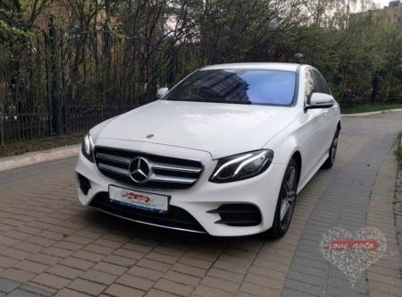 Прокат Mercedes-Benz E213 AMG  на свадьбу