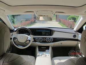 Прокат Mercedes-Benz S222 на свадьбу 1