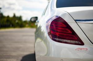 Прокат Mercedes-Benz S222 на свадьбу 3