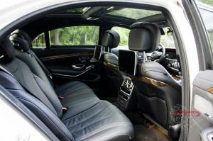 Прокат Mercedes-Benz S222 на свадьбу 5