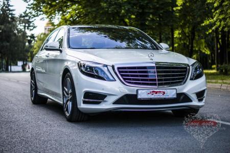Прокат Mercedes-Benz S222 на свадьбу