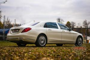 Прокат Mercedes-Benz S222 Maybach на свадьбу 4