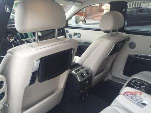 Прокат Rolls-Royce Ghost на свадьбу 2